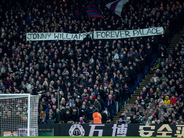 Jonny Williams banner Grimsby